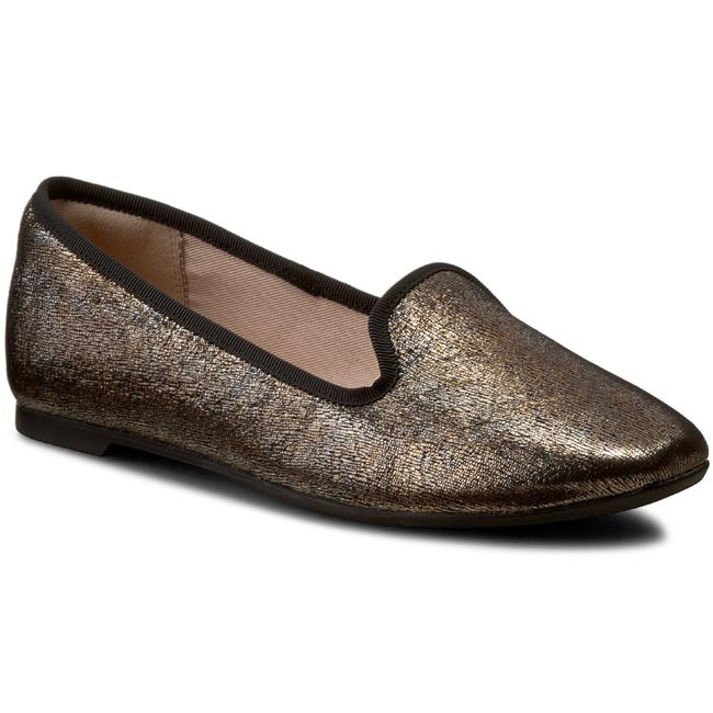 Lordsy CLARKS - Chia Milly 261217404 Bronze Metallic