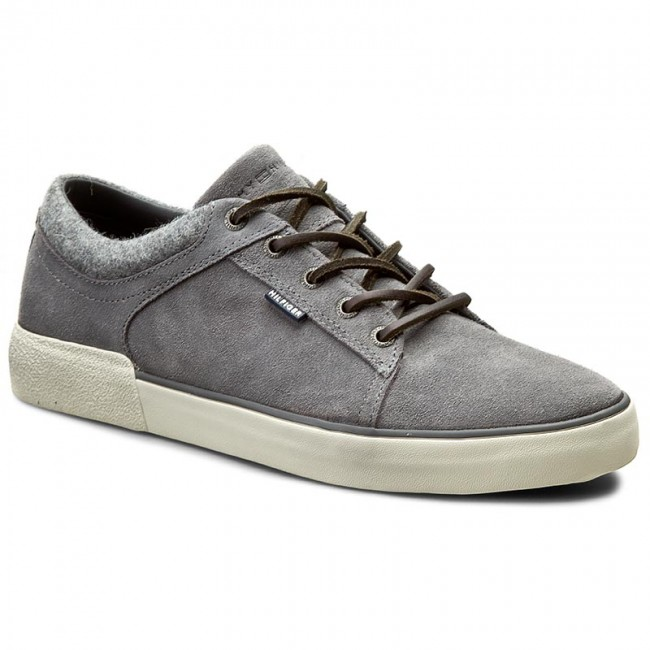 Sneakersy TOMMY HILFIGER - Willis 1B FM56821539 Steel Grey 039