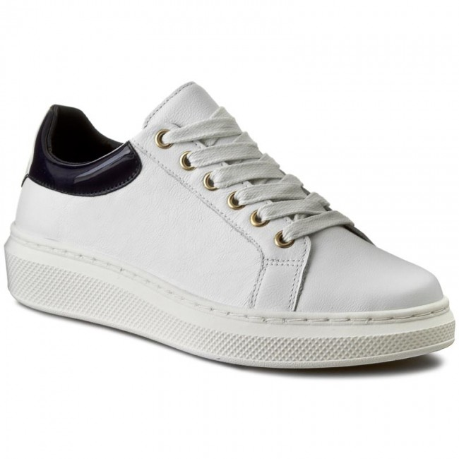 Sneakersy TOMMY HILFIGER - Sabrina 1A FW56822036 White/Midnight 100