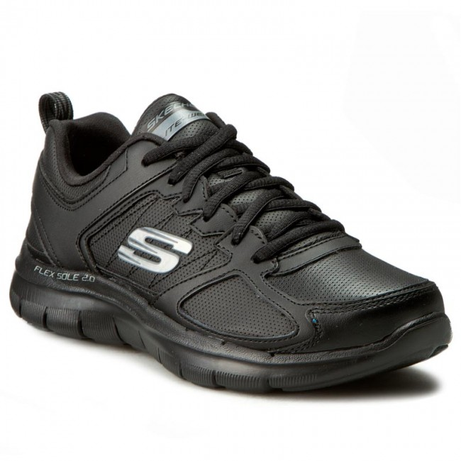 Boty SKECHERS - Good Timing 12755/BBK Black