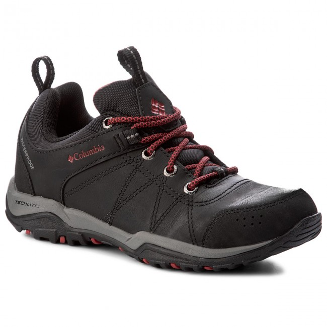 Trekingová obuv COLUMBIA - Fire Venture Waterproof BL1714 Black/Burnt Henna 010