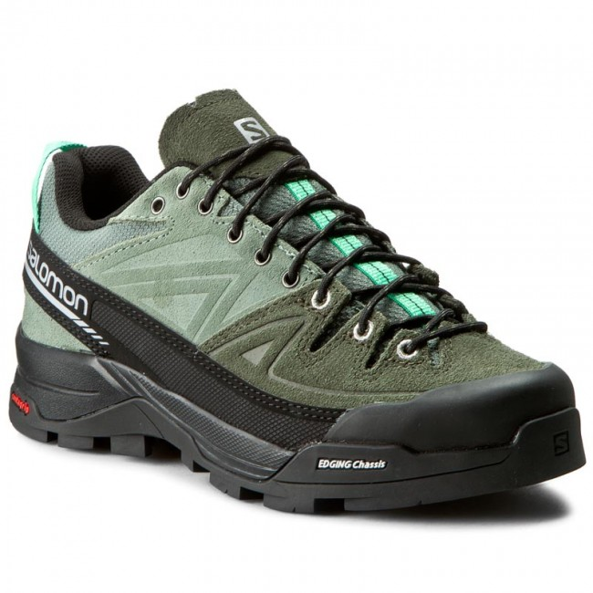 Trekingová obuv SALOMON - X Alp Ltr W 379265 20 V0 Light Tt/Night Forest/Jade Green