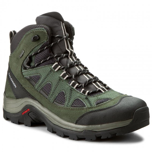 Trekingová obuv SALOMON - Authentic Ltr Gtx GORE-TEX 390409 26 V0 Asphalt/Night Forest/Aluminium