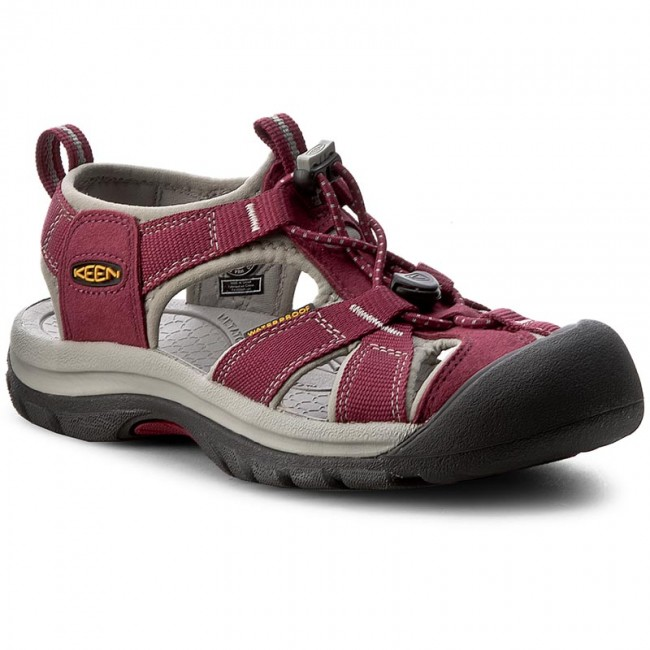 Sandály KEEN - Venice H2 1012238  Beet Red/Neutral Gray