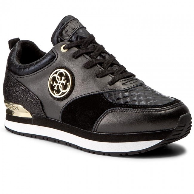 Sneakersy GUESS - Rimma FLRIM3 LEM12 BLACK