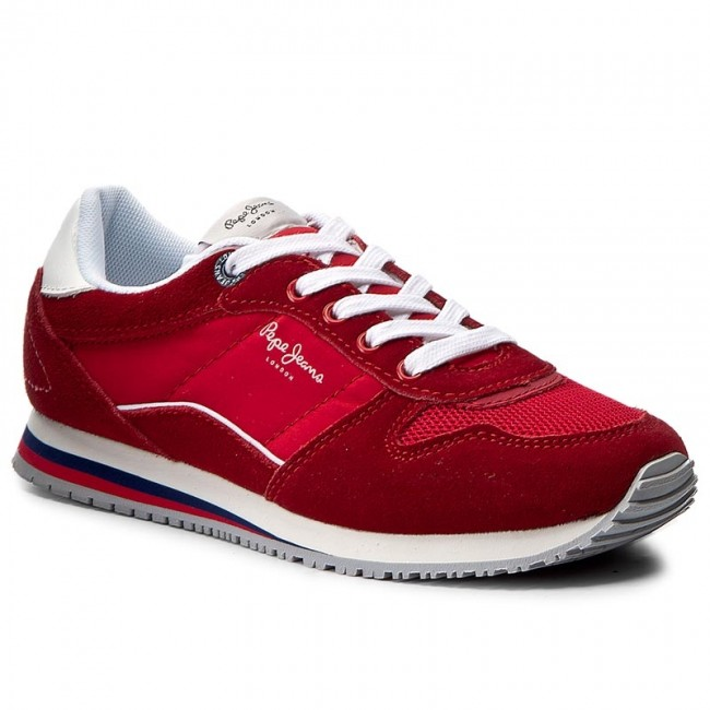 Polobotky PEPE JEANS - Sydney Color PBS30285 Pepper Red 254