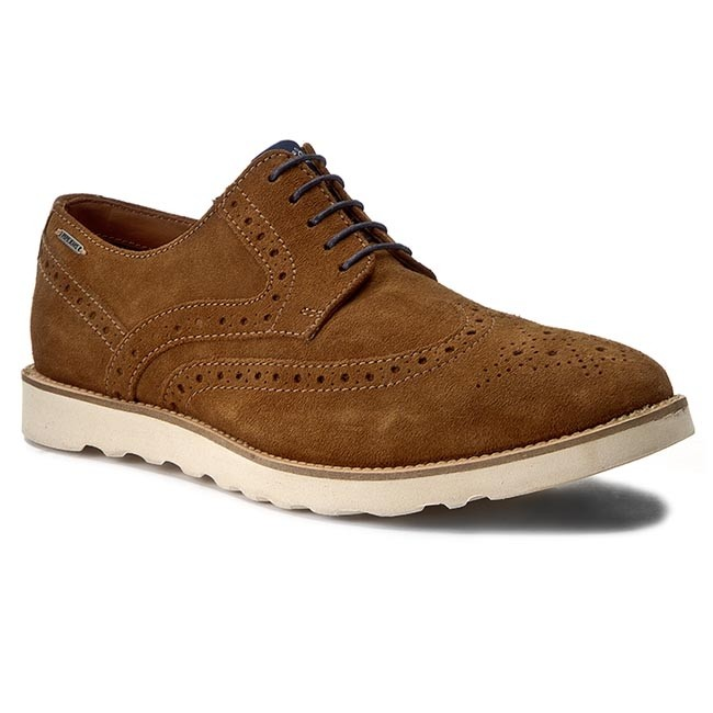 Polobotky PEPE JEANS - Barley Suede PMS10182 Nut Brown 877