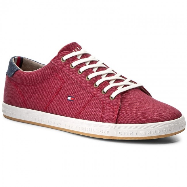 Tenisky TOMMY HILFIGER - Howell 1D2 FM0FM00471 Scooter Red 614