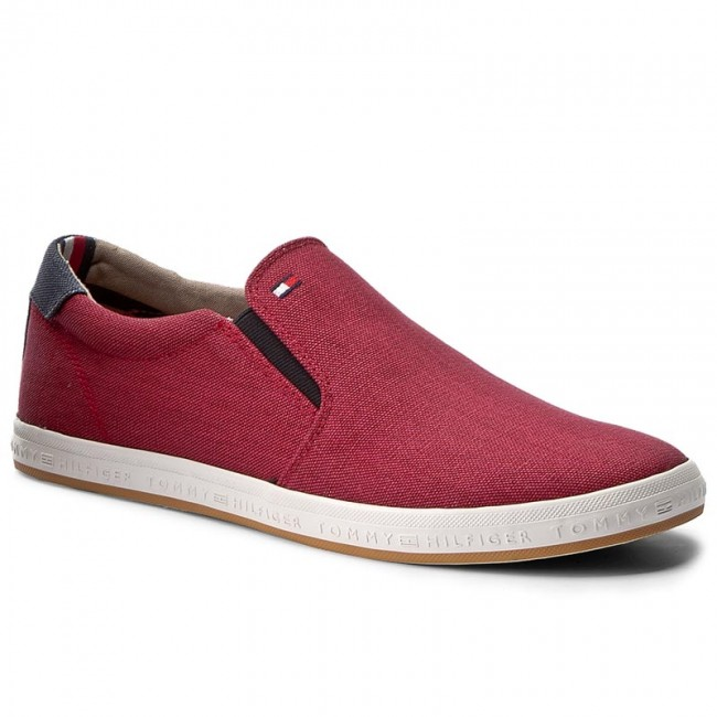 Tenisky TOMMY HILFIGER - Howell 2D2 FM0FM00409 Scooter Red 614