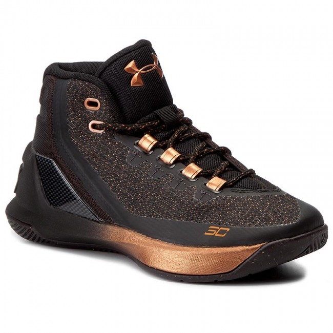 Boty UNDER ARMOUR - Ua Bgs Curry 3 Asw 1303608-001 Blk/Slv/Cop