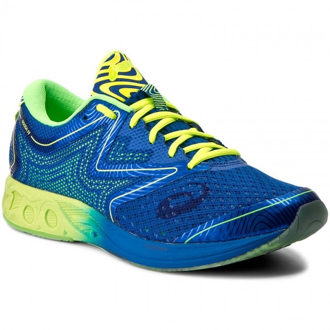 Boty ASICS - Noosa Ff T722N Imperial/Safety Yellow/Green Gecko