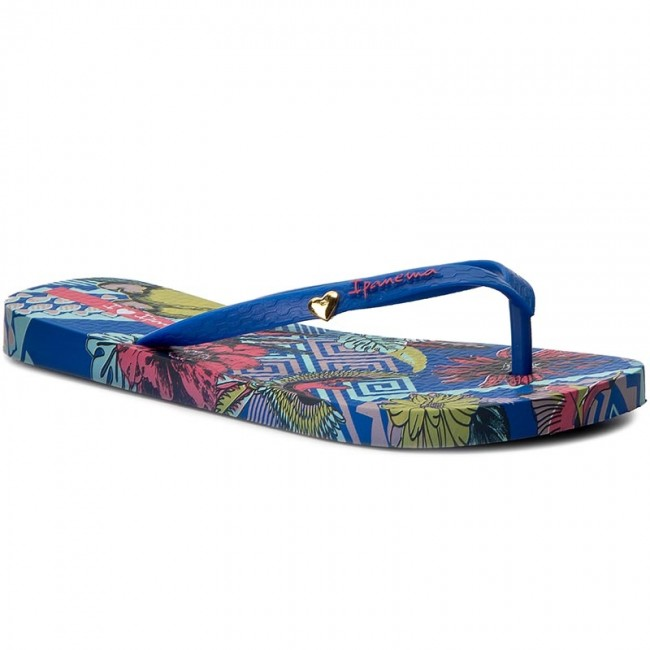 Žabky IPANEMA - I Love Tribal Fem 82034 Blue/Green 23563