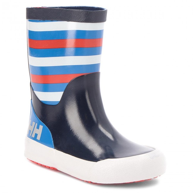 Holínky HELLY HANSEN - Nordvik Stripe 114-11.689 Evening Blue/Blue Water/Grenadine/Off white/Reflective (Shiny)