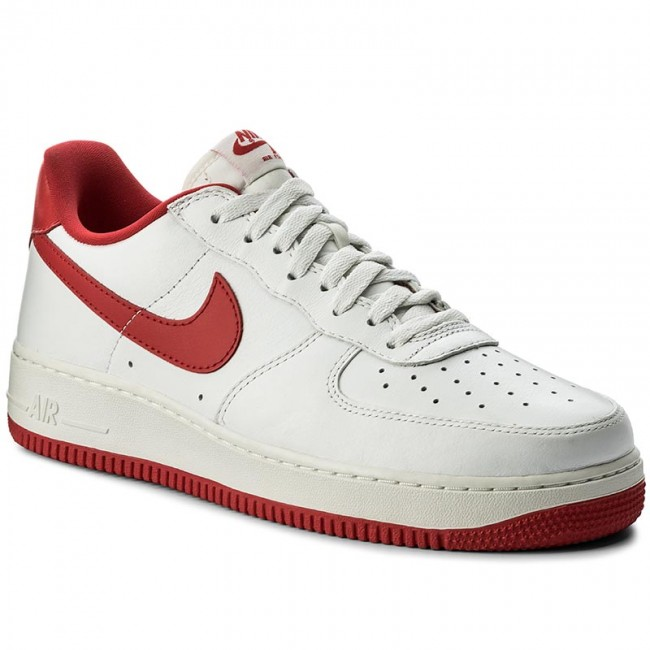 Boty NIKE - Air Force 1 Low Retro 845053 100 Summit White/University Red