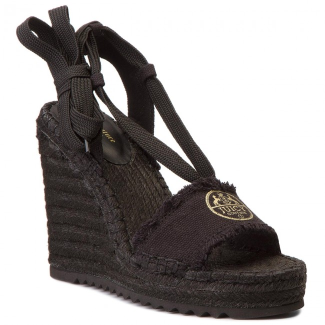Espadrilky JUICY COUTURE BLACK LABEL - Dada JB156 Black
