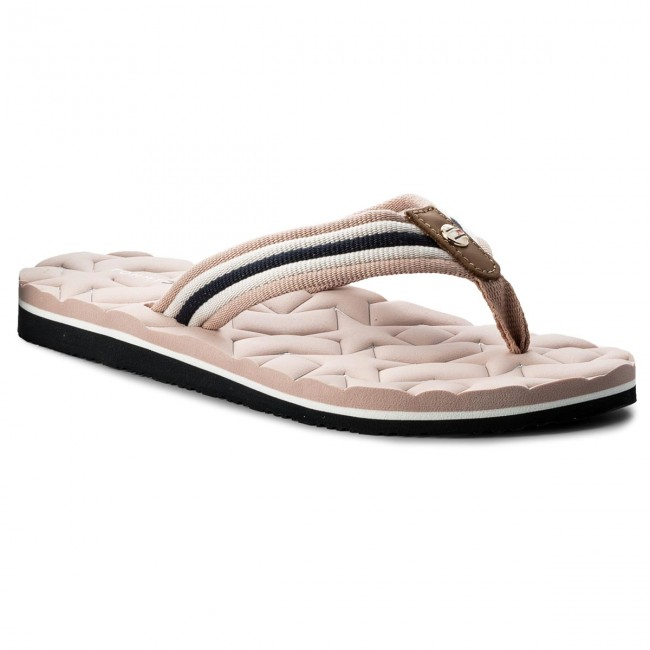Žabky TOMMY HILFIGER - Comfort Low Beach Sandal FW0FW02368 Dusty Rose 502