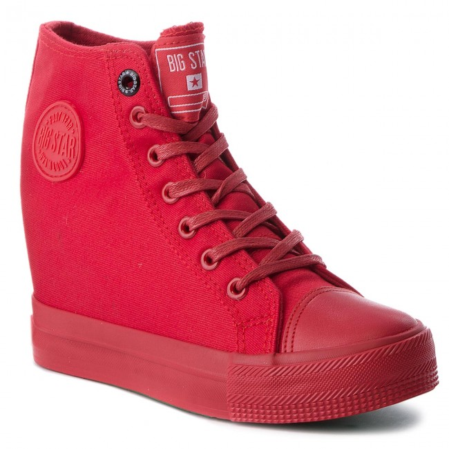 Sneakersy BIG STAR - AA274A088 Red