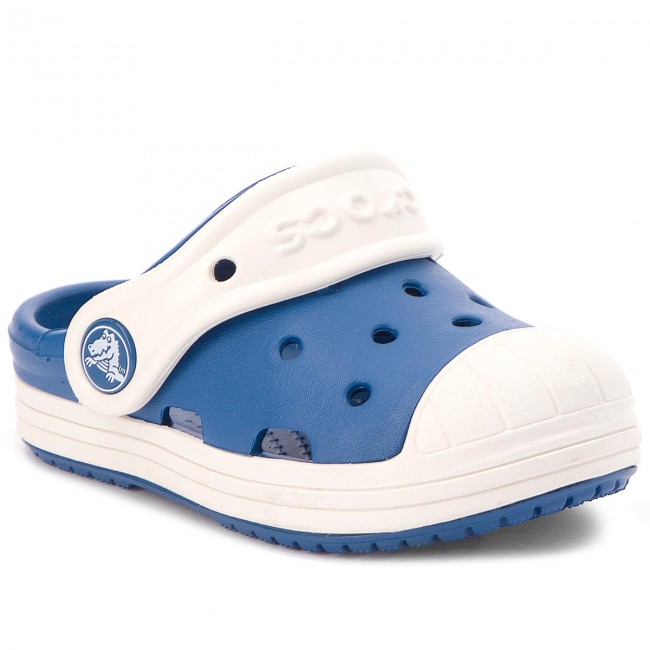 Nazouváky CROCS - Bump It Clog Kids 202282 Blue Jean/Oyster
