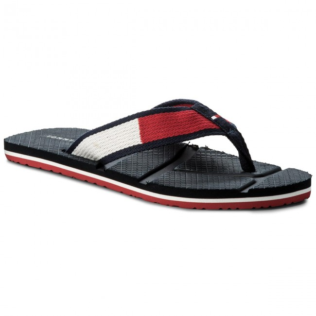 Žabky TOMMY HILFIGER - Technical Flag Beach Sandal FM0FM01368  Rwb 020