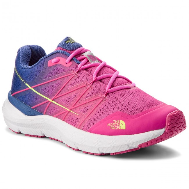 Boty THE NORTH FACE - Ultra Cardiac II T92VUW3TR Soldalite Blue/Glo Pink