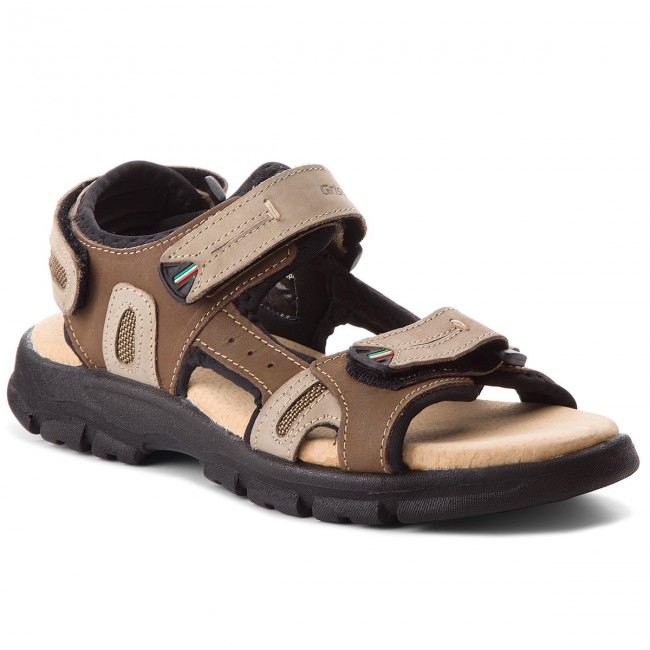 Sandály GRISPORT - 81551N1 Buff Taupe/Light Brown