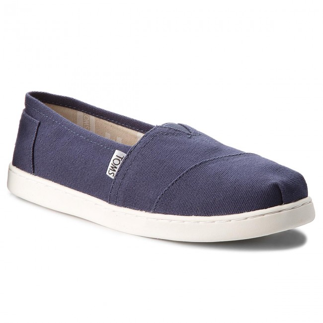Polobotky TOMS - Classic 10010532  Navy Canvas