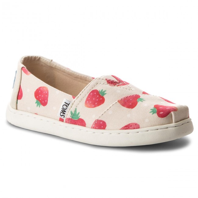 Polobotky TOMS - Classic 10011461 Birch Strawberries And Cream