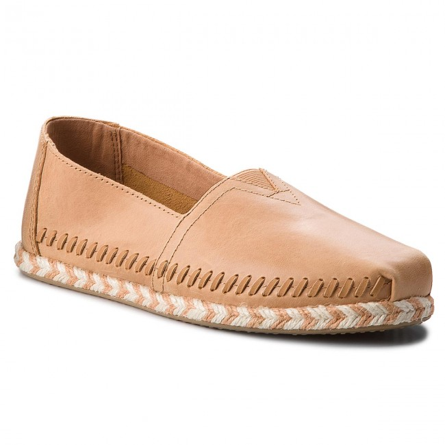 Espadrilky TOMS - Classic 10011661  Honey Leather