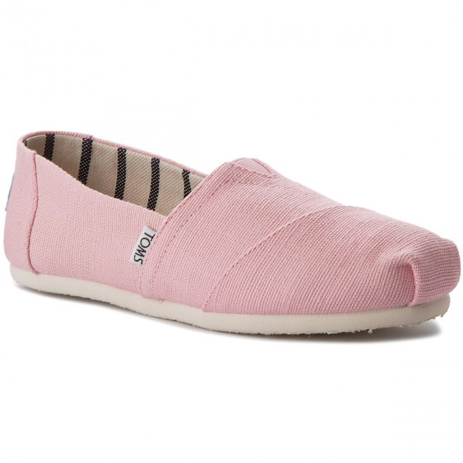Polobotky TOMS - Classic 10011677  Powder Pink