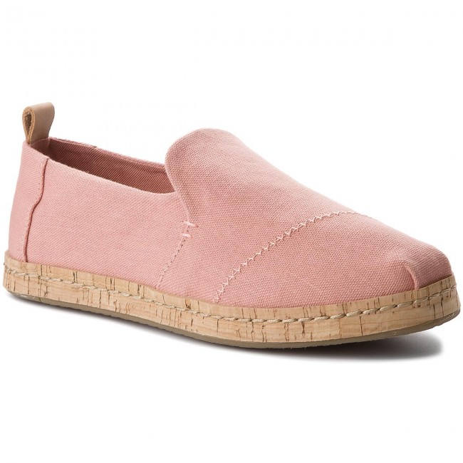 Polobotky TOMS - Deconstructed Alpargata Cork 10011731 Bloom Hemp