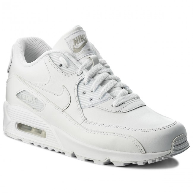 Boty NIKE Air Max 90 Leather 302519 113 True WhiteTrue White