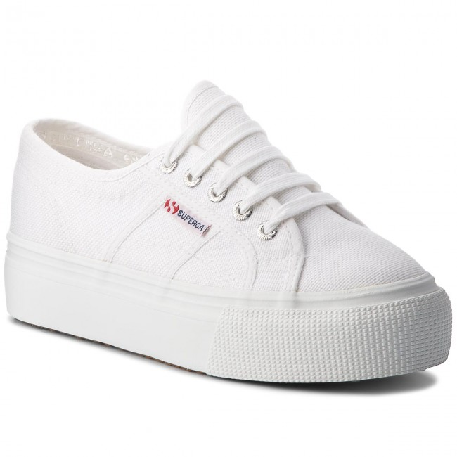 Tenisky SUPERGA - 2790 Acotw Linea Up And Down S0001L0 White 901
