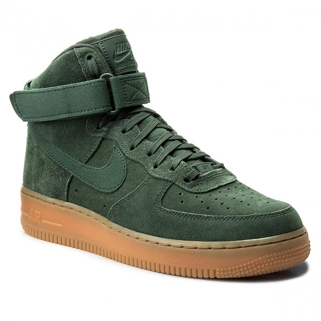 20a9094131137 Boty NIKE - Air Force 1 High '07 LV8 Suede AA1118 300 Vintage Green ...