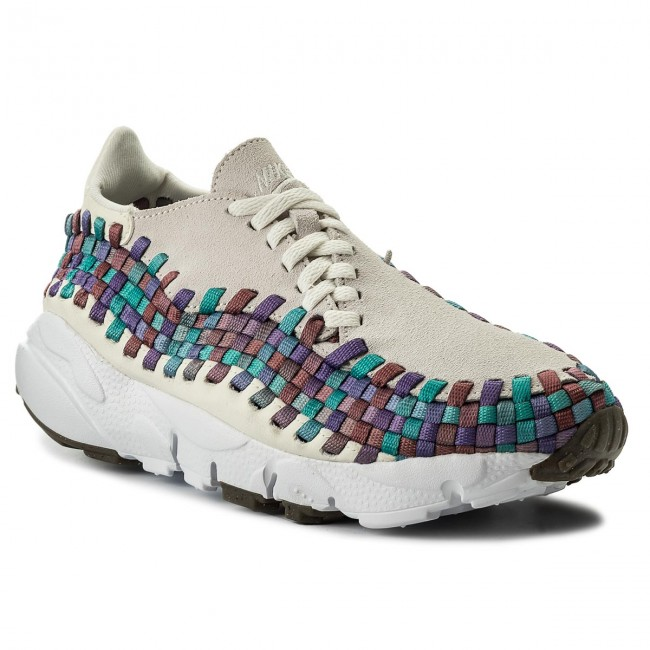 Boty NIKE - Air Footscape Woven 917698 100 Sail/White/Red Stardust