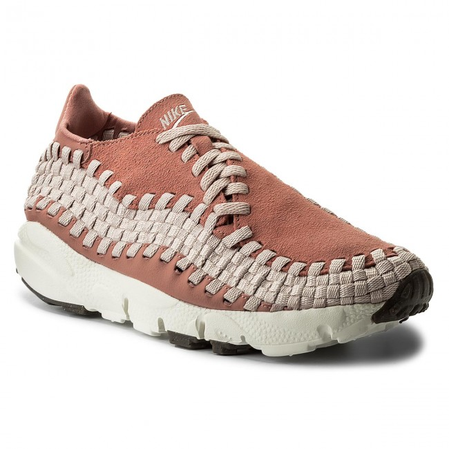Boty NIKE - Air Footscape Woven 917698 600 Red Stardust/Silt Red/Sail