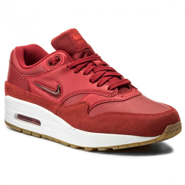 Boty NIKE - Air Max 1 Premium Sc AA0512 602 Gym Red/Gym Red/Speed Red