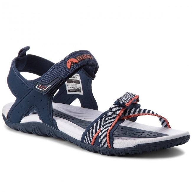 Sandály ELBRUS - Colusa Navy/White/Watermelon Red