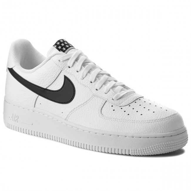 Boty NIKE - Air Force 1 '07 AA4083 103 White/Black