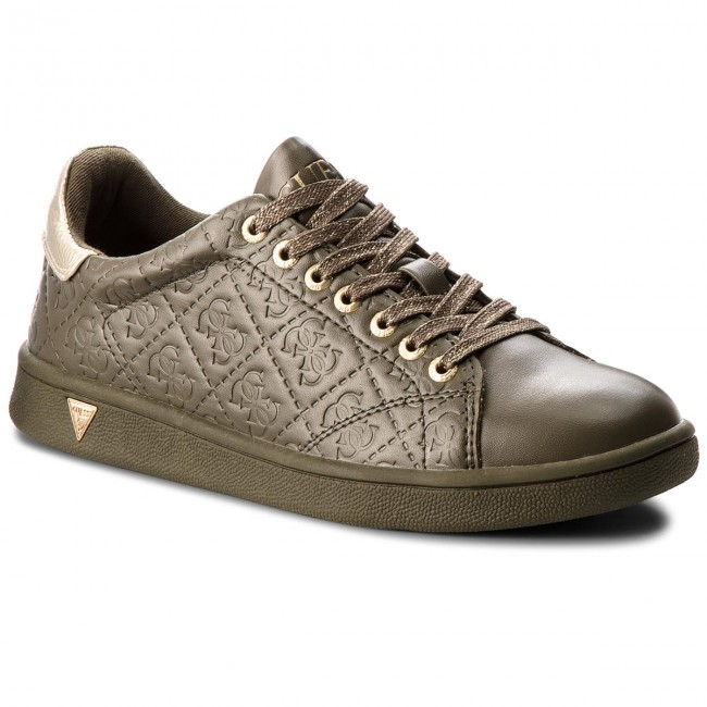 Sneakersy GUESS - FLUPE3 ELE12 GREEN