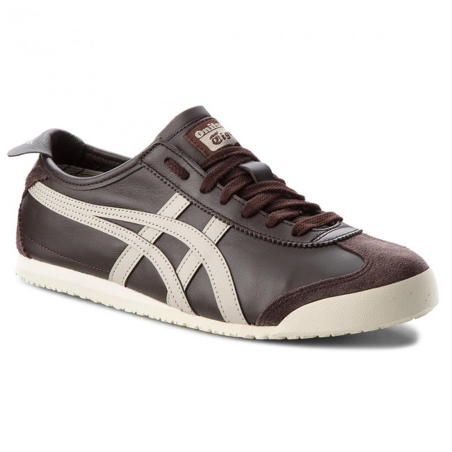 Sneakersy ONITSUKA TIGER - Mexico 66 D4J2L Coffee/Feather Grey 2912
