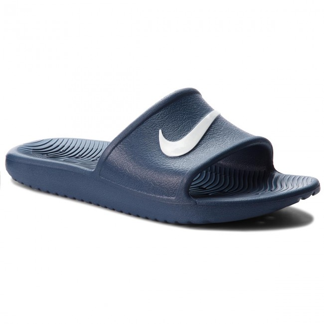Nazouváky NIKE - Kawa Shower (GS) AQ0899 401 Navy/White