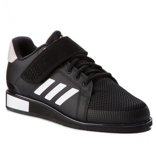 Boty adidas - Power Perfect III BB6363 Core Black/Ftwr White/Matte Gold
