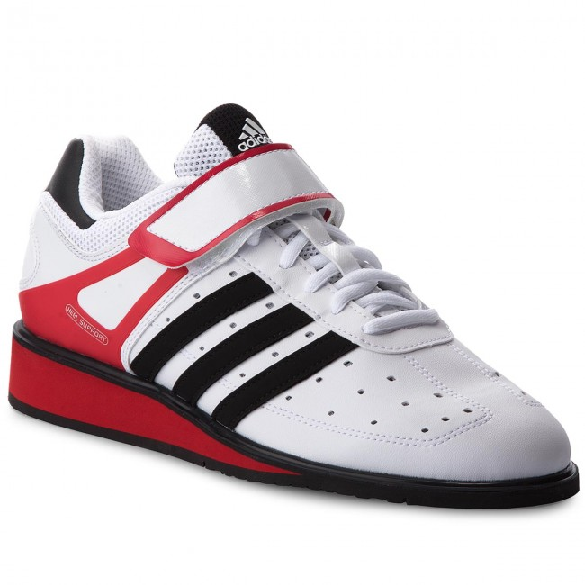 Boty adidas - Power Perfect II G17563 Runwht/Black1/Radred