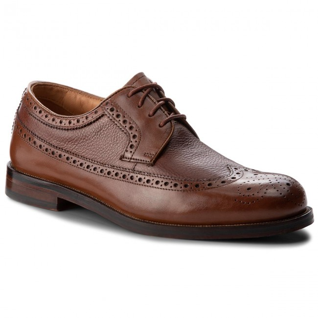 Polobotky CLARKS - Coling Limit 261348147 British Tan