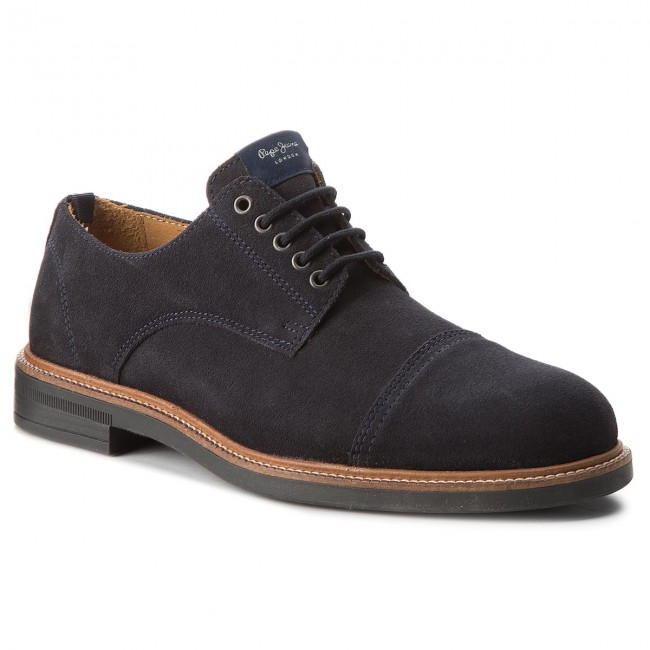 Polobotky PEPE JEANS - Axel Derby PMS10247 Navy 595