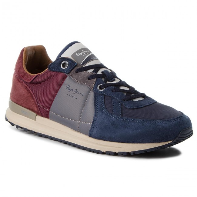 Sneakersy PEPE JEANS - Tinker Pro-Camp PMS30485 Old Navy 584