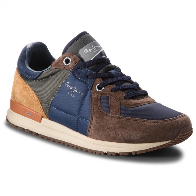 Sneakersy PEPE JEANS - Tinker PMS30485  Stag 884