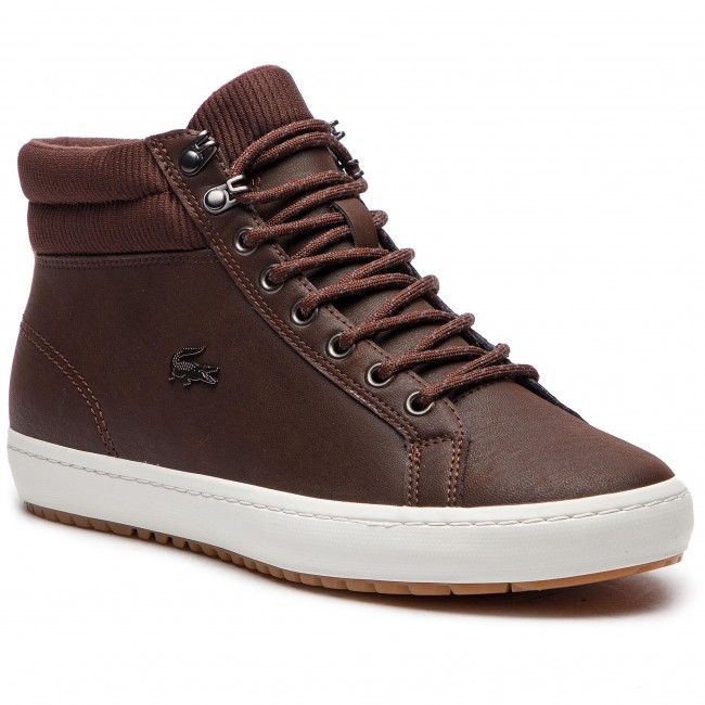 Sneakersy LACOSTE - Straightset Insulac 3181 Cam 7-36CAM0064DB2 Dk Brw/Dk Brw