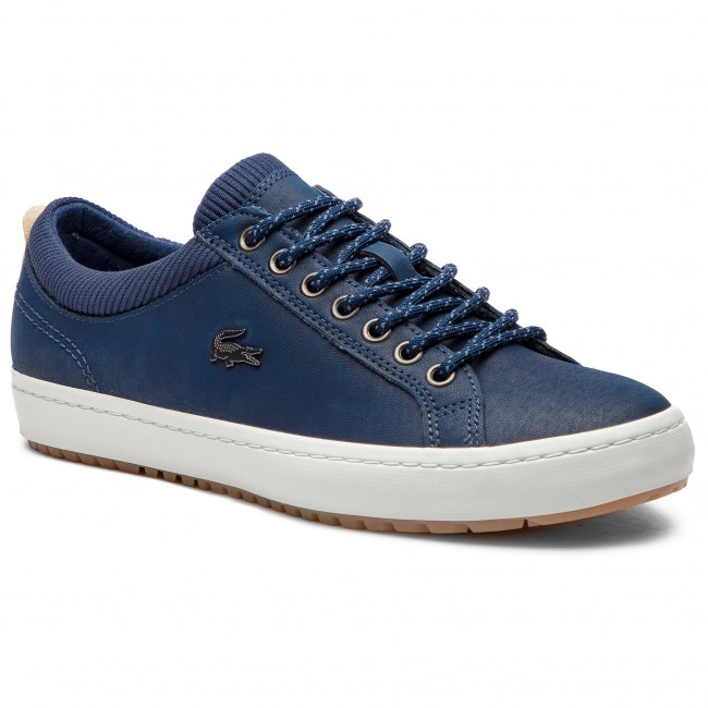Sneakersy LACOSTE - Straightset Insulate 3181 Cam 7-36CAM00652Q8 Nvy/Brw