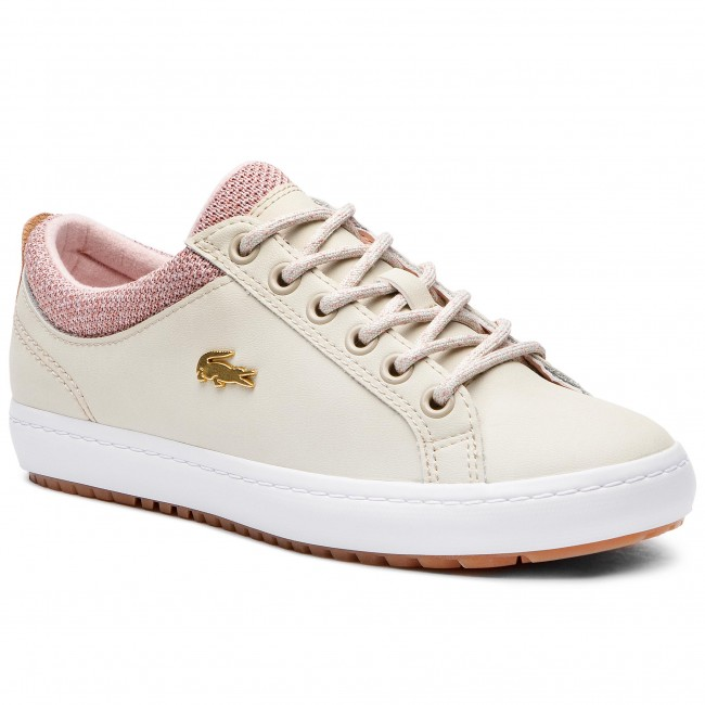 Sneakersy LACOSTE - Straightset Insulate 3181 Caw 7-36CAW00427F8 Nat/Whty